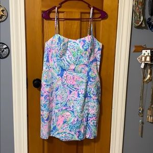 Lilly Pulitzer shelling stretch dress